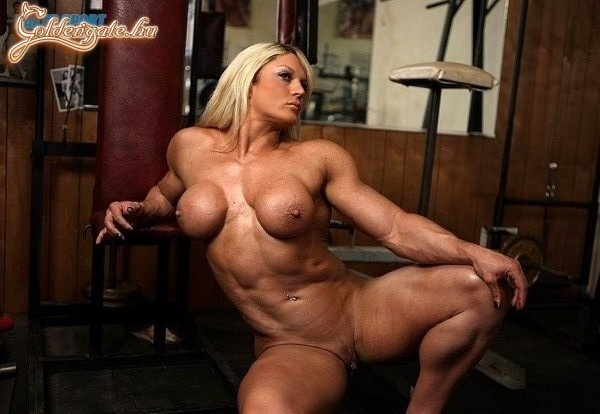 Sexy Hungarian Goddess With Big Muscles Pulls Huge Clit