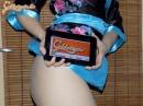 Szexi kimonóban - 1. kép