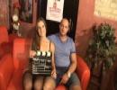 Amatőr magyar párok castingon