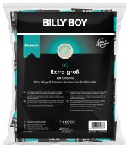 Billy Boy XXL - 62mm, extra nagy óvszer (100db)
