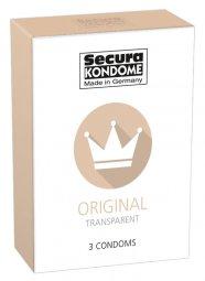 Secura Original - áttetsző óvszerek (3db)
