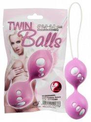 Twin Balls - gésagolyó duó (pink)