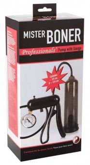Mister Boner Professional - nyomásmérős péniszpumpa