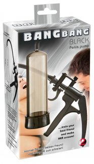 You2toys Bang Bang - ollós péniszpumpa (fekete)