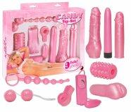 Rózsaszín - vibrátoros készlet (9 részes)