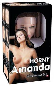 Horny Amanda - életnagyságú guminő