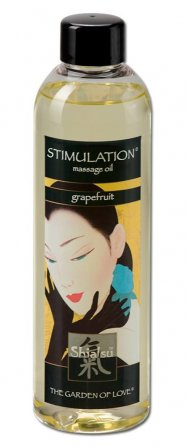 SHIATSU Erotic - masszázsolaj - grapefruit (250ml)