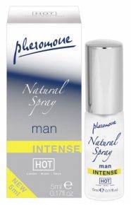 HOT natural - intenzív feromon parfüm (5ml) - férfiaknak