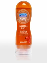 Durex Play 2in1 masszázsolaj - Guarana - 200ml