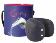 G-ring - USB-s ujj vibrátor (kék)