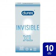 Durex Invisible XL - extra nagy óvszer (10db)