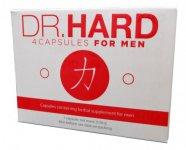 Dr. Hard - erős, étrend-kiegészítő kapszula férfiaknak (4db)