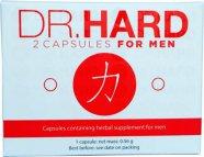 Dr. Hard - erős, étrend-kiegészítő kapszula férfiaknak (2db)