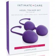 Jimmy Jane Kegel Trainer - 2 részes gésagolyó szett (lila)