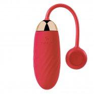 Svakom Ella vibrációs tojás (piros)
