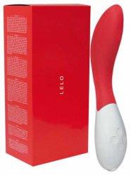 LELO Mona 2 - hajlított vibrátor (piros)