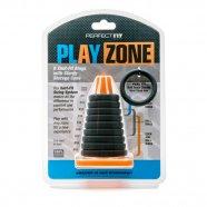 Play Zone Farokjáték - pénisz-, heregyűrű és nyújtó szett (9 részes)
