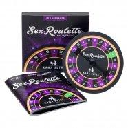 Sex Roulette Kama Sutra - szex társasjáték (10 nyelven)