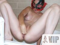 Heves maszti a fürdőben
