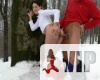 Orsi a hóban