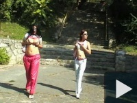 Pécsi ribi barátnők akcióban