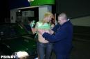 Moncsit a benzinkúton analizálják                      - 3. kép