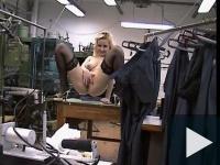 Amatőr dugás a ruhagyárban