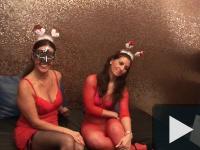Privát Mikulás Gang-Bang party Lindával és Ritával